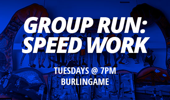 (Currently Postponed) Group Run: Speed Work (BG)