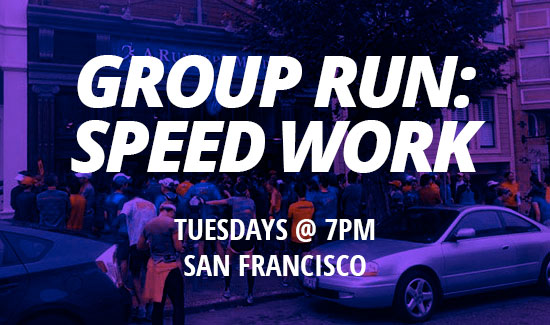 Group Run: Speed Work (Hill)